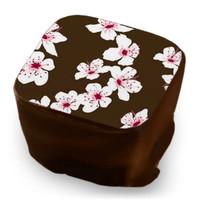 Transfer Sheet Cherry Blossom  - White, Rose & Wine Red