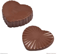 11 cm Large Chocolate Heart Box with Lid - 6