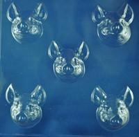 SALE Porky Pig Heads No 136