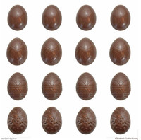 4 cm Easter Eggs Extra Small - Mould #7