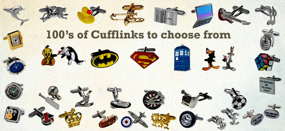 Buy your Cufflinks at great prices at Cufflinks World