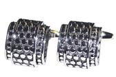 Engine turned Formal cufflinks
