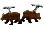 Animal Bears cufflinks