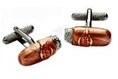 Cigar Novelty Cufflinks