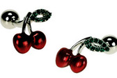 Cherry Novelty Cufflinks
