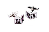 Book Swarovski cufflinks