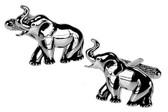 Elephant Animal Cufflinks