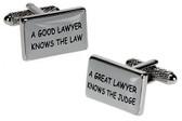 Funny Lawyer Cufflinks