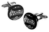 Musical notes Cufflinks