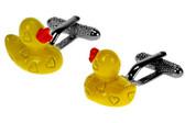 Yellow Duck cufflinks