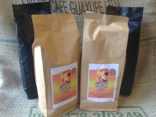 Roasted Coffee beans MUTLI PACK, 4 x 1kgs