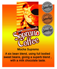 roasted coffee beans | Mocha Supremo