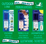 Mr. Sticky's OUTDOOR 3-Pak