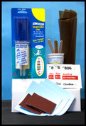 HYPALON INFLATABLE BOAT REPAIR KIT (MANUAL MIX, less MEK)