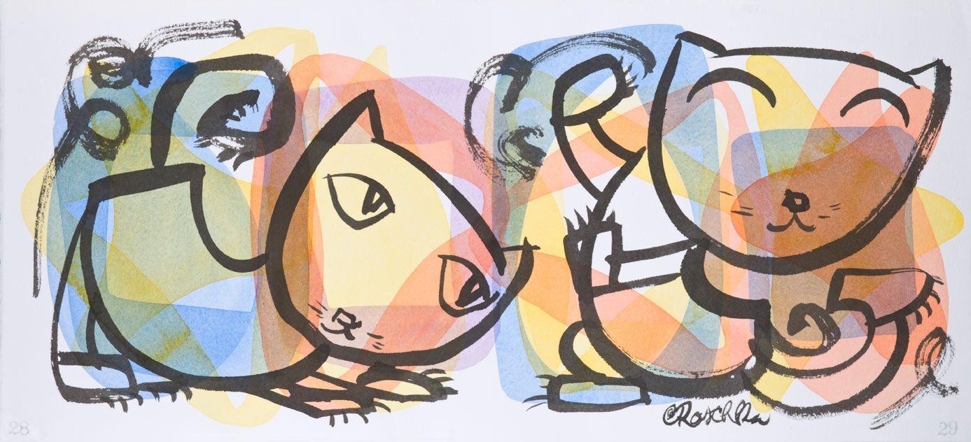 Chris Rashka, John Coltrane's Giant Steps, 2002. Sheets of Color