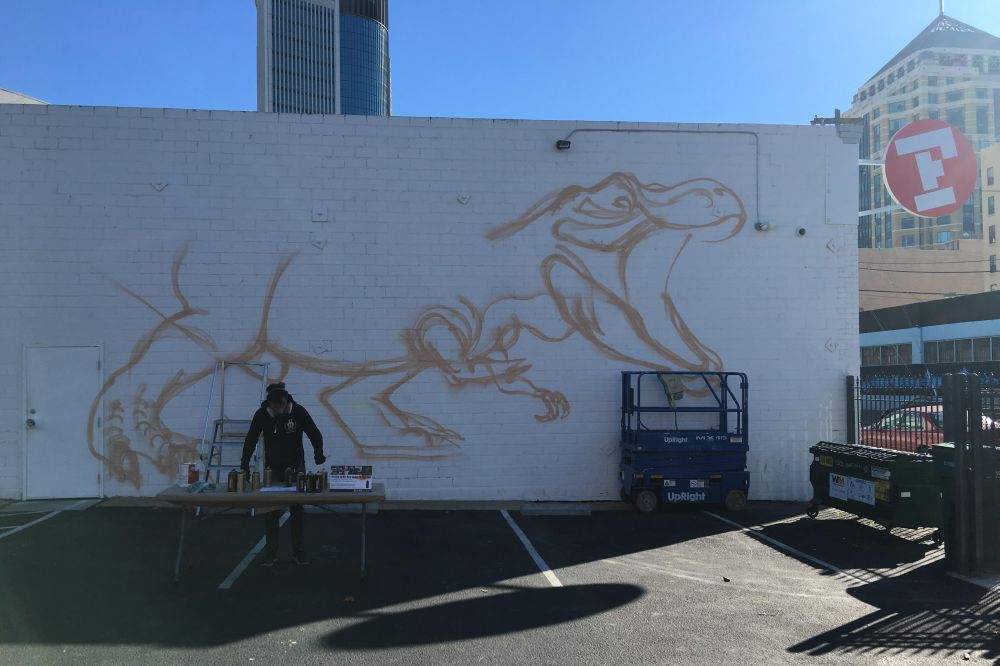 nychos, t-rex lay out