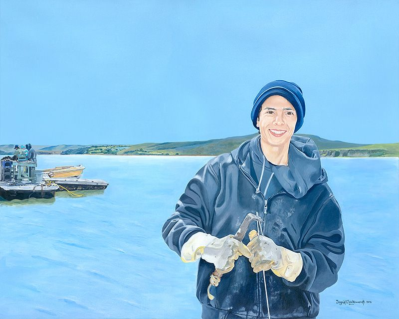 The Oyster Farmer, Ingrid C. Lockowandt