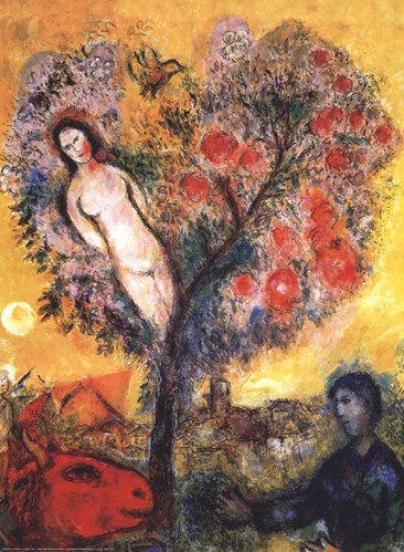 Artists Celebrating the Tree - FLAX art & design Chagall Model
