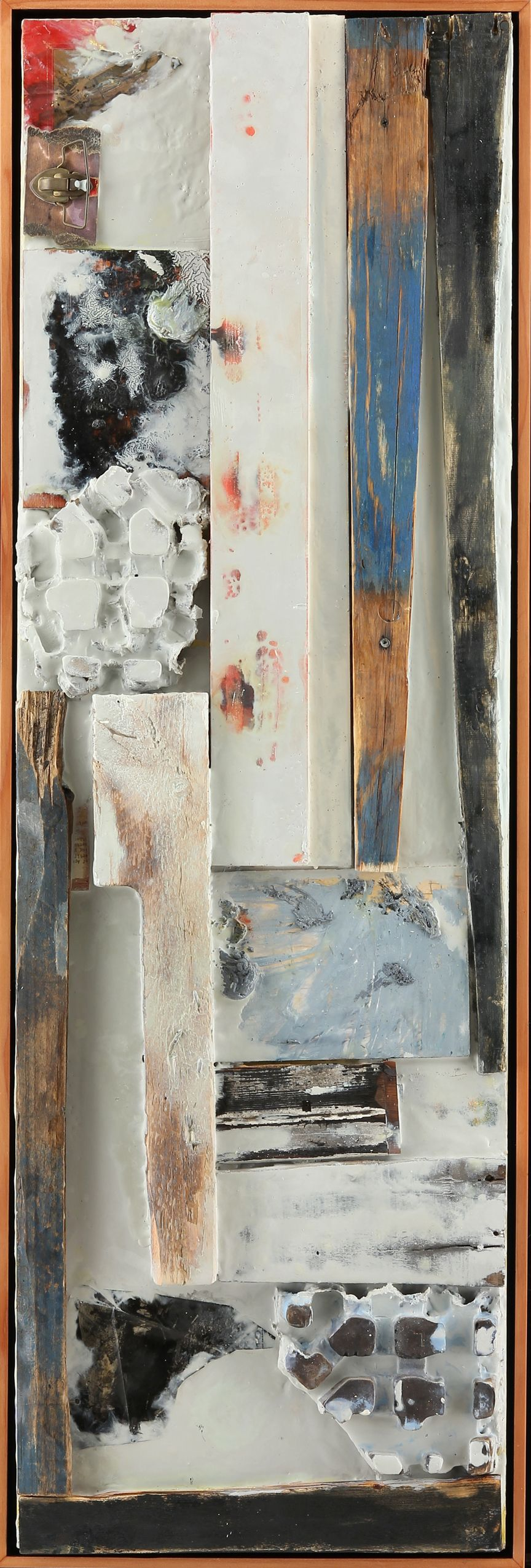 """""""Untitled,"""" 48x15 inches, Sharon Kyle Kuhn"""