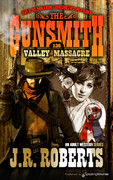 Valley Massacre by J.R. Roberts (Print)