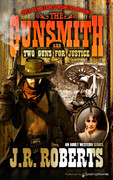 Two Guns for Justice by J.R. Roberts (Print)