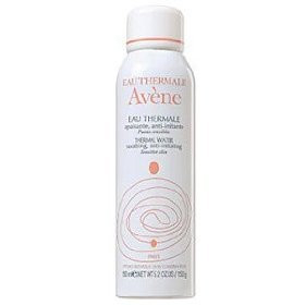 Soothing Avene Thermal water facial mist. Perfect to hydrate and calm skin.