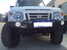 Suzuki Sierra winch bumper