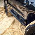 Rock Sliders fitted to a Ford Ranger PX
