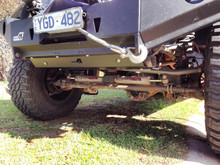 JK Wrangler skid plate to suit Uneek 4x4 bull bar