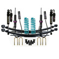 Ford PX Ranger 50mm Suspension Lift Kit Monotube Remote Reservoir Front Adjustable Shocks