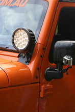 JK wrangler A pillar Light brackets