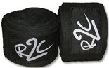 R2C Handwraps Cotton-Black 180""