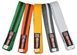 ROLL HARD IBJJF Kids Brazilian Jiu Jitsu Belts Rank System