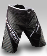 PunchTown FARKAS eX MMA Fight Shorts - CARBON
