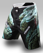 PunchTown FARKAS eX MMA Fight Shorts - CRUSH