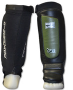 GelTech Grappling Shin instep - Covered Back