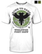 Ring To Cage Tee - Worldwide Fight Crew