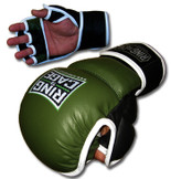Safety Sparring Gloves - Green/Black
