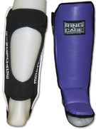 Womens Hook&Loop MMA Shin instep - Open Back