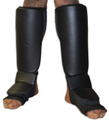 NO LOGO Grappling Shin instep - Stretchable Coverd Back