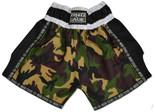 Muay Thai Shorts - Camo/Mesh