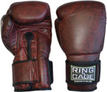 Deluxe MiM-Foam Sparring Gloves -  Safety Strap.