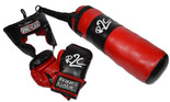 Kids Boxing Training Bag Set, Punching Bag Gloves Heavy Bag Bundle Kit