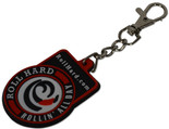 ROLL HARD Brand rubber key chain