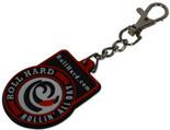 ROLL HARD Brand rubber key chain