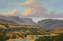 Fred Choate 'Owyhee Country' Litho or Canvas Signed
