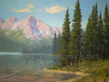 Fred Choate 'Payette River' Giclee on Canvas Limited Edition