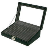 Leather Pen Case in Black