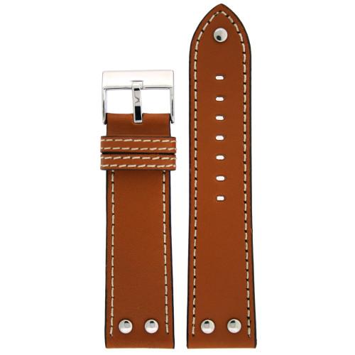 Leather Watch Band Cuff Custom Handmade Swiss Army - YouTube