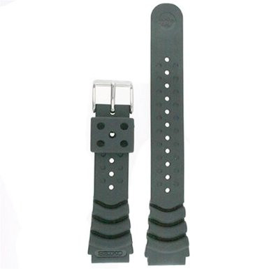 Seiko Rubber Watch Band Original 20mm for Diver Models - Main